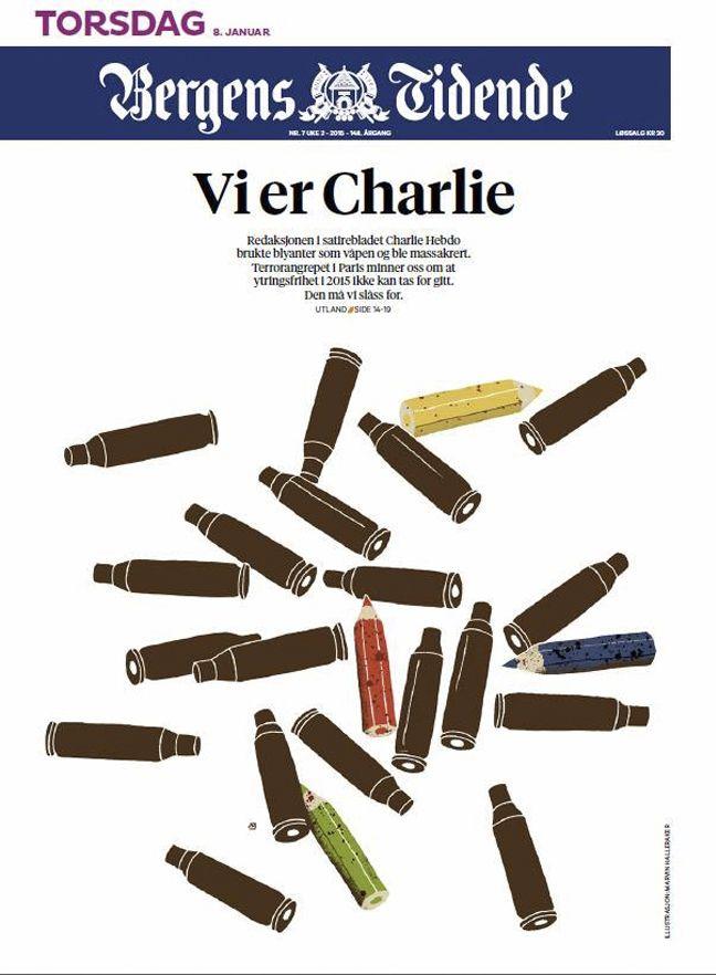 Diaporama | Dessinateurs et journaux rendent hommage à Charlie Hebdo