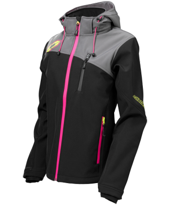 8ac8e0effd3 CASTLE X Women's BARRIER G2 TRI-LAM SOFTSHELL JACKET at Up North ...