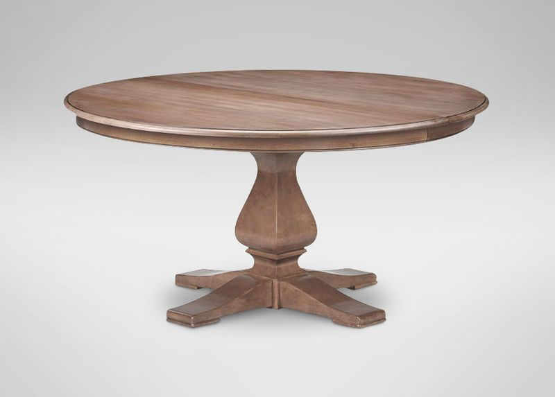 Cameron Rustic Round Dining Table With Images Round Dining