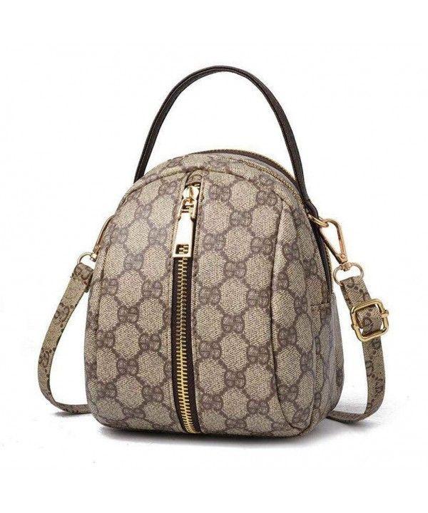 6d0a6c1e9 Women's Bags, Shoulder Bags, Women's Crossbody Bag- Classical Leather  Cellphone Pouch - Khaki - C218EQEURUI #Women #Bags #Fashion #Handbags  #shopping ...