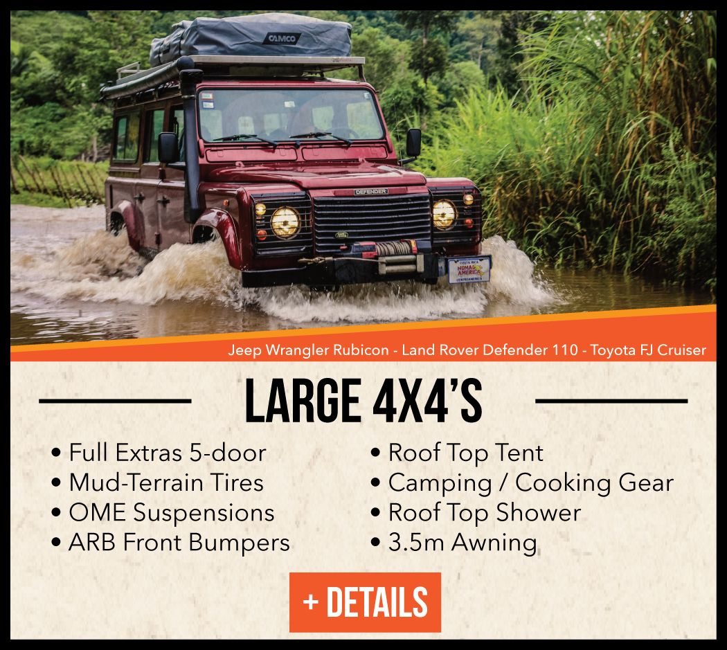 Our Cars/Rates Land rover defender, Camping rental