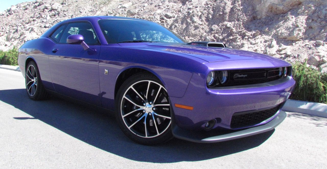 Plum Crazy Is A Dodge Heritage Hue That S Back On Some Challengers And Chargers For 2016 Larry Edsall Photos