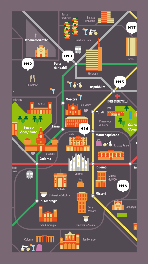 Milano Congressi (MiCo) - The ultimate map of Milan on Behance