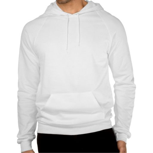 Plain white fleece pullover hoodie for men Hoodie T-Shirt | Zazzle ...