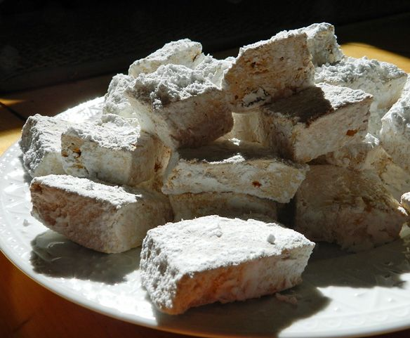 Canadian twist on a classic, Maple Marshmallows.