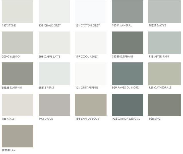 Flamant Verf Kleurenpaletten Muurverf Kleuren Kleurkaarten