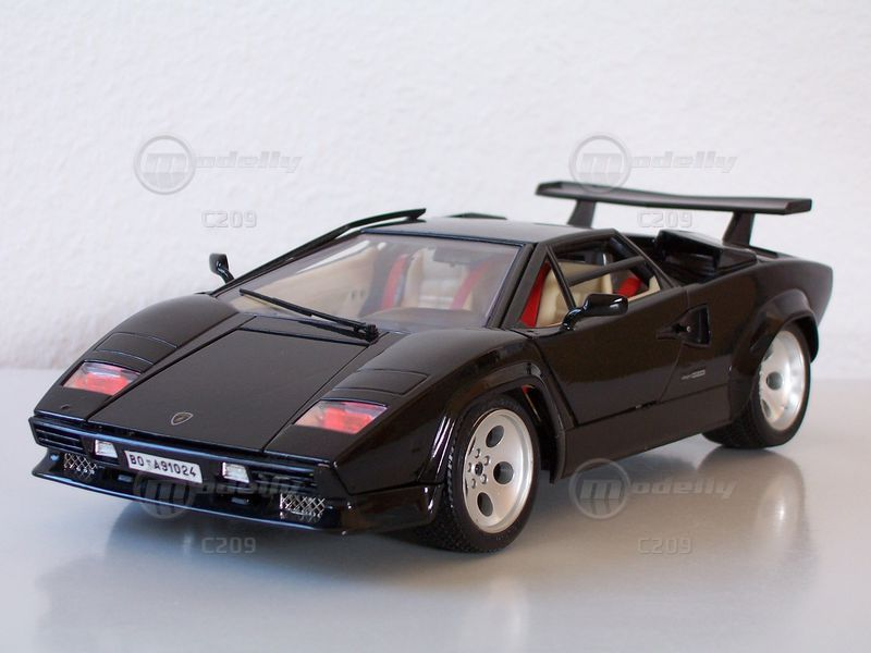 images of 1/18 black countach | Lamborghini For Sale No Engine ...