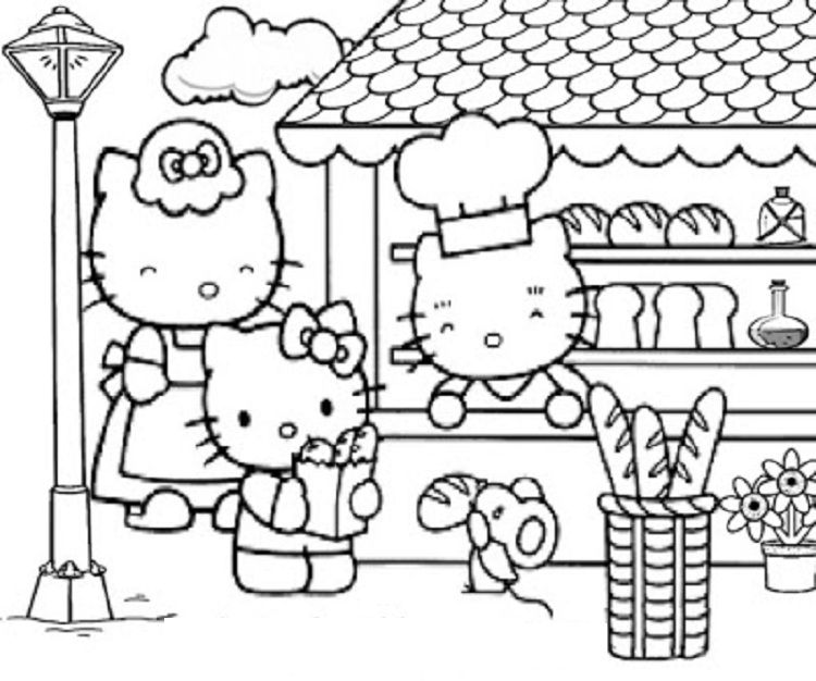 Hello Kitty Coloring Pages Spring Dbest In 2019rhpinterest: Hello Kitty Coloring Pages Spring At Baymontmadison.com