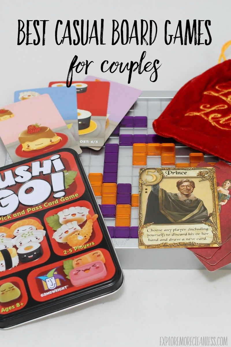 Date Night Board Games - Explore More Clean Less in 2020