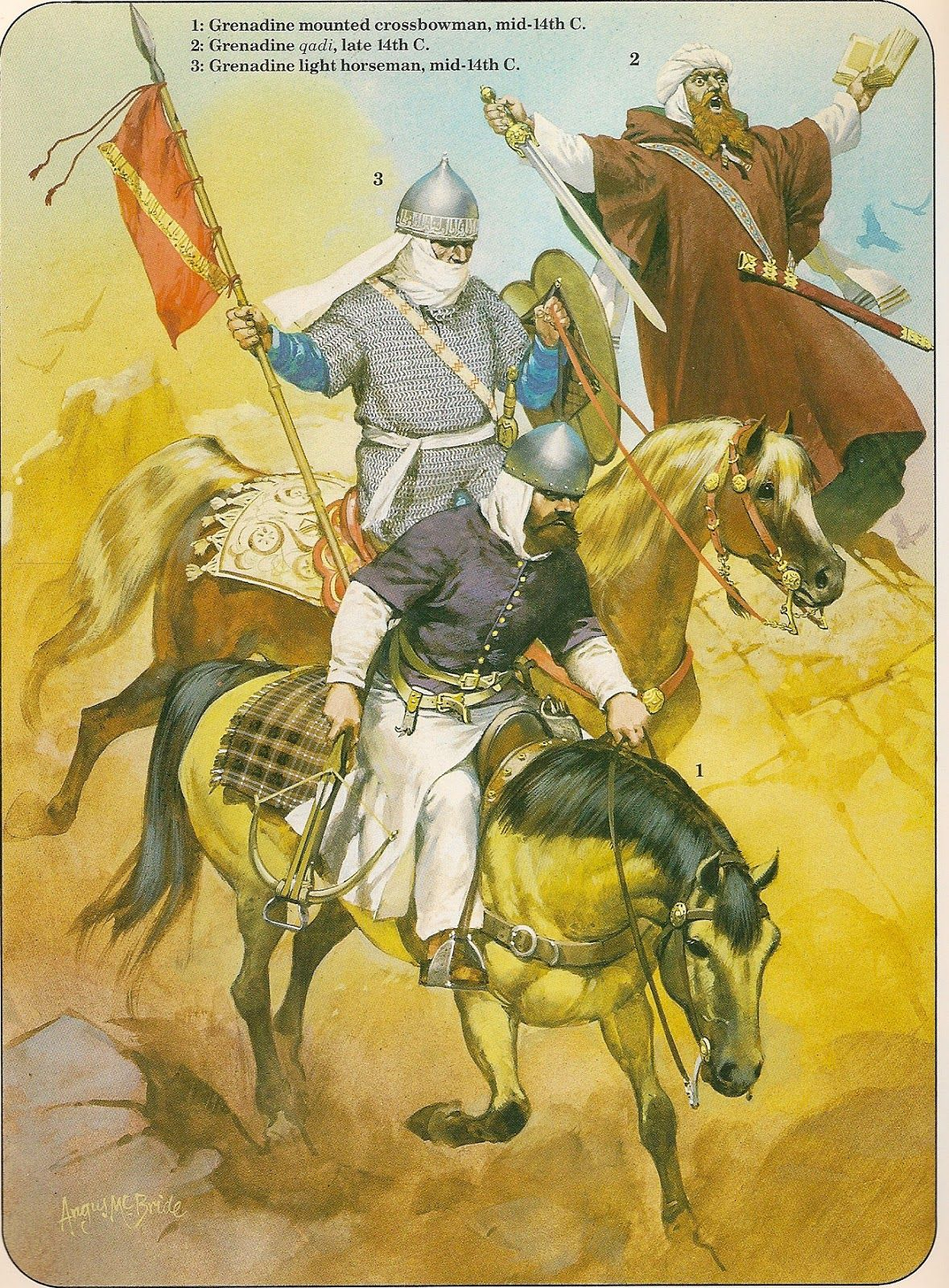 Moorish light cavalry