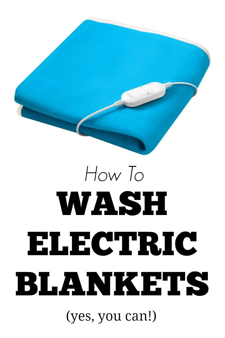 How To Wash Electric Blankets Cleaning Hacks Cleaning Recipes