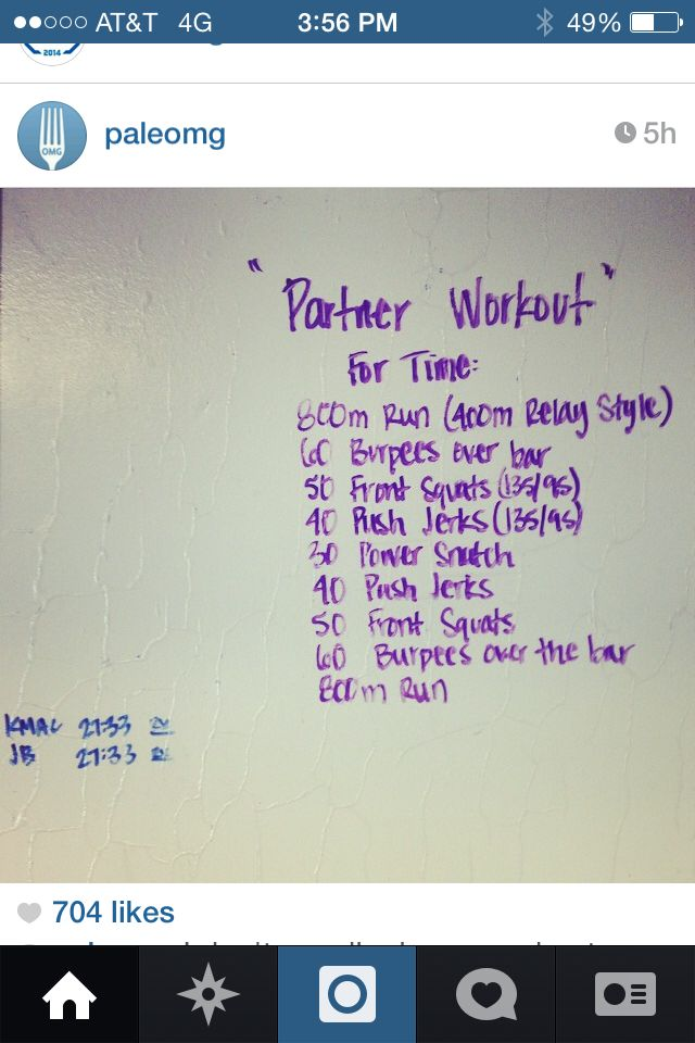 Doc box wods workouts for garage gym athletes