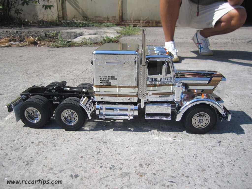 RC Semi Truck - Tamiya Kin Hauler Metallic | RC Car ...