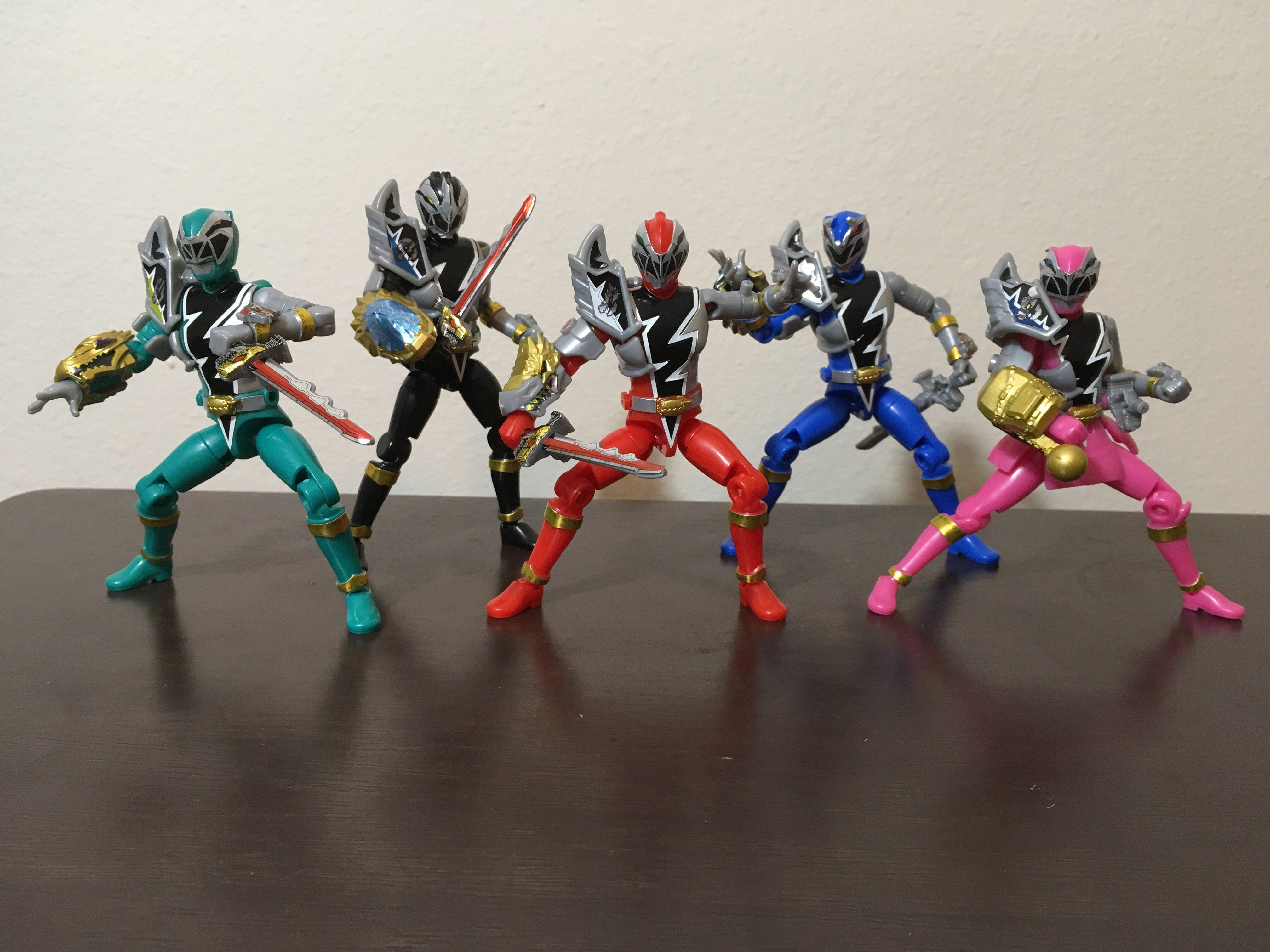 Ryusoulger YuDo figures finally came in the mail