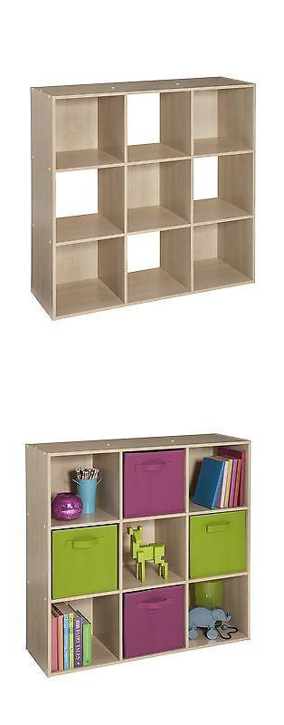 Other Home Organization 20621: Closetmaid Cubeicals 9 Cube Organizer Birch   U003e BUY IT NOW