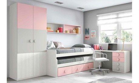 Conjunto dormitorio juvenil huelva dormitorio juvenil for Conjunto dormitorio juvenil