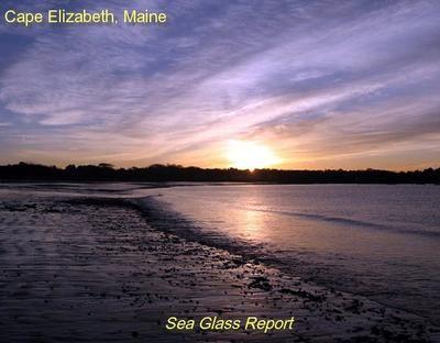 Crescent Beach Cape Elizabeth Maine Sea Glass Beach Report