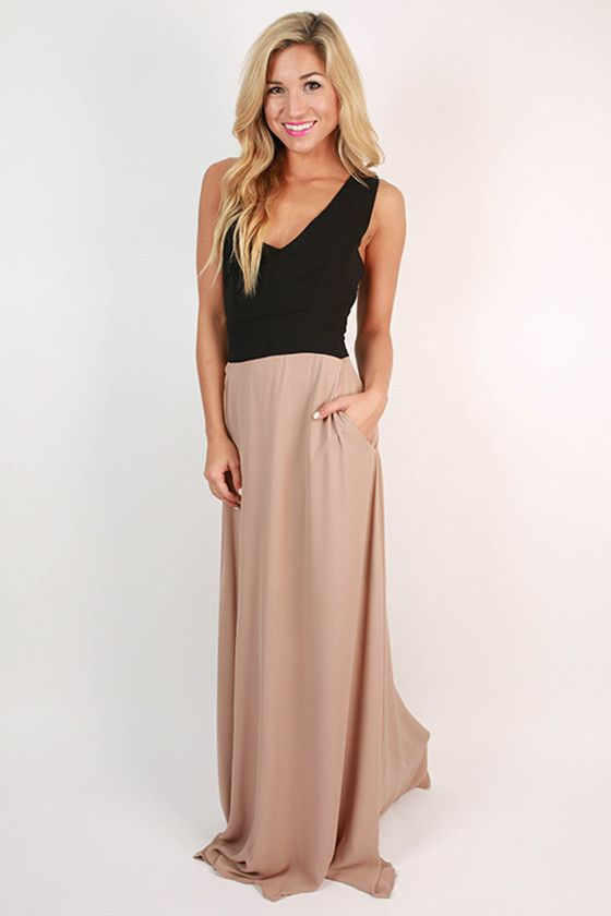 8ade4d6385a One In A Million Maxi in Taupe One In A Million
