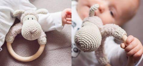Photo of Häkeln Sie Baby Rassel – Kostenloses Muster