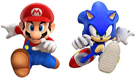 Sonic At 20 Two Decades At The Speed Of Light Sonic Sonic Party Mario