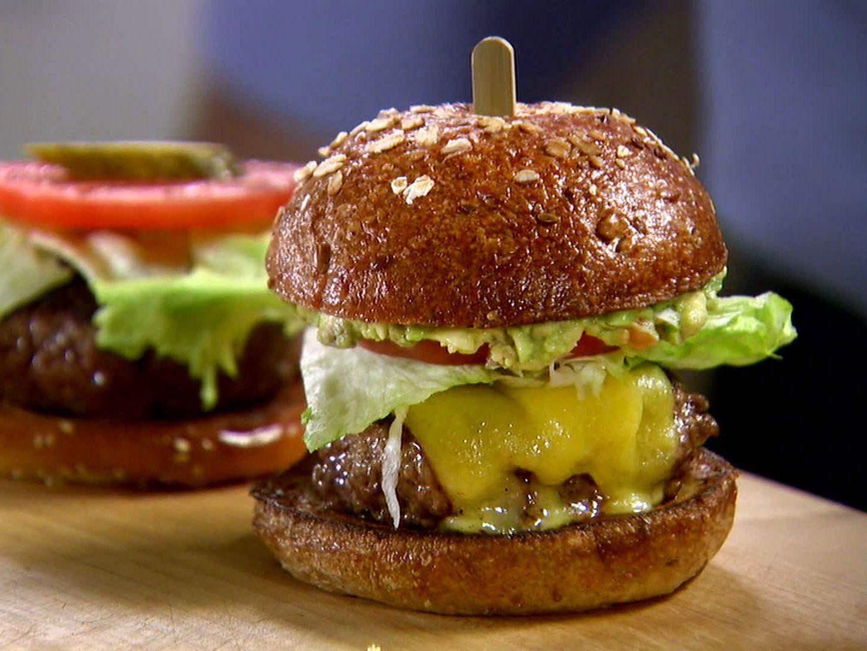 hamburger signature au guacamole - HD1440×1080