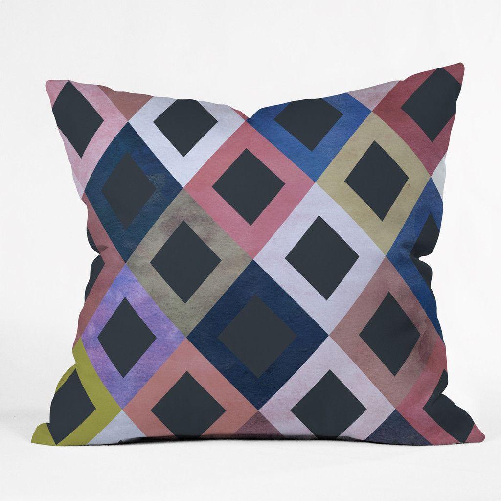 Georgiana Paraschiv Terra Throw Pillow   DENY Designs Home Accessories
