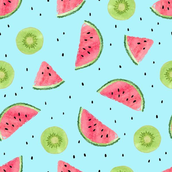 Kate Watermelon And Kiwi Backdrop For Photography Summer Holiday