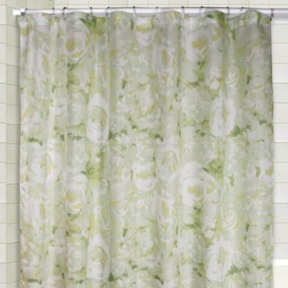 Ricardo Trading Cabbage Shower Curtain And Valance Set Color