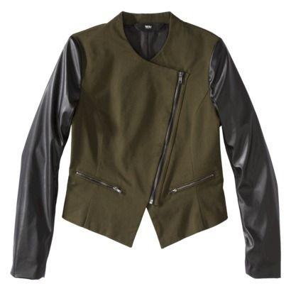 Target Faux Leather Moto Jacket 40 Fall Winter Style Pinterest