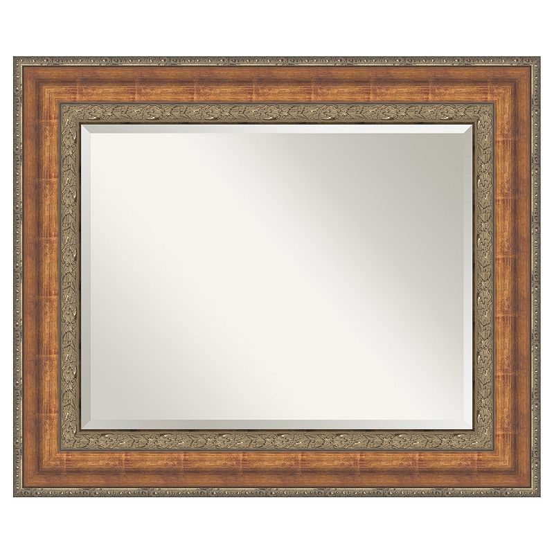 Amanti Art Vienna Bronze-Tone Wall Mirror, Brown