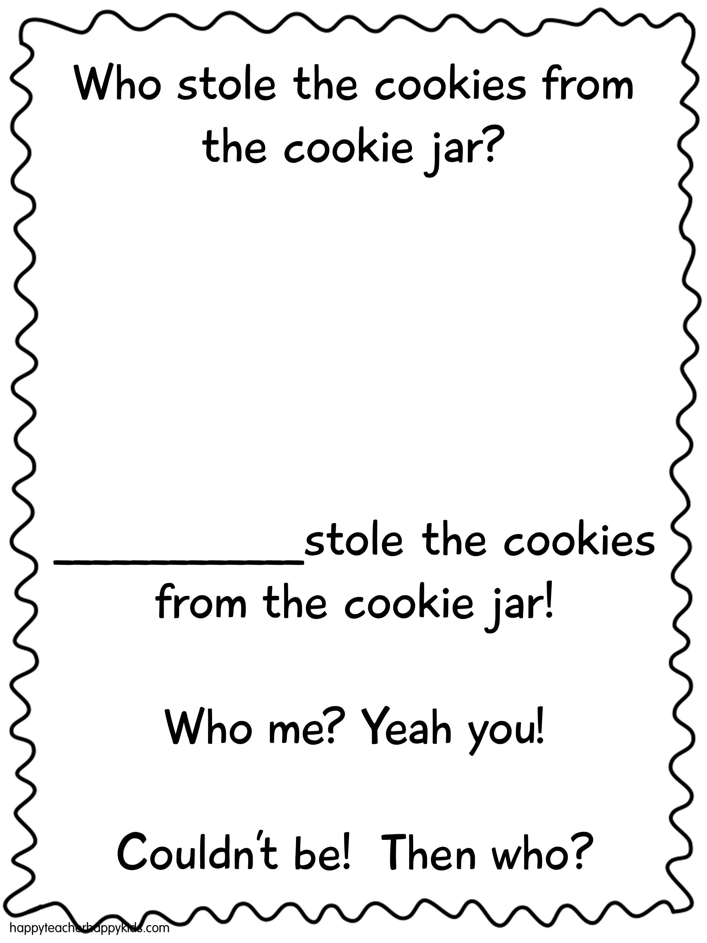 Who Stole The Cookie From The Cookie Jar Lyrics Brilliant Back To School Smart Cookies  Cookie Jars Jar And Books Review
