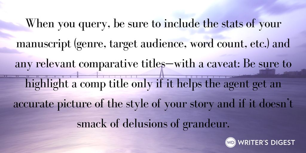 Kids Query Letter A QUERY LETTER is written to an editor