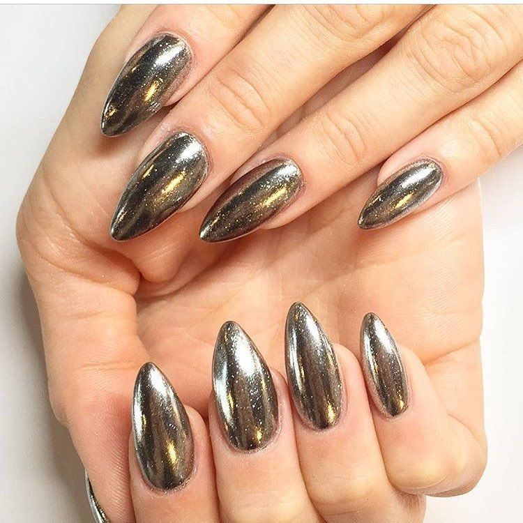 If You Want To Jump On The Latest Nail Trend Need Check Out Those Chrome Designs