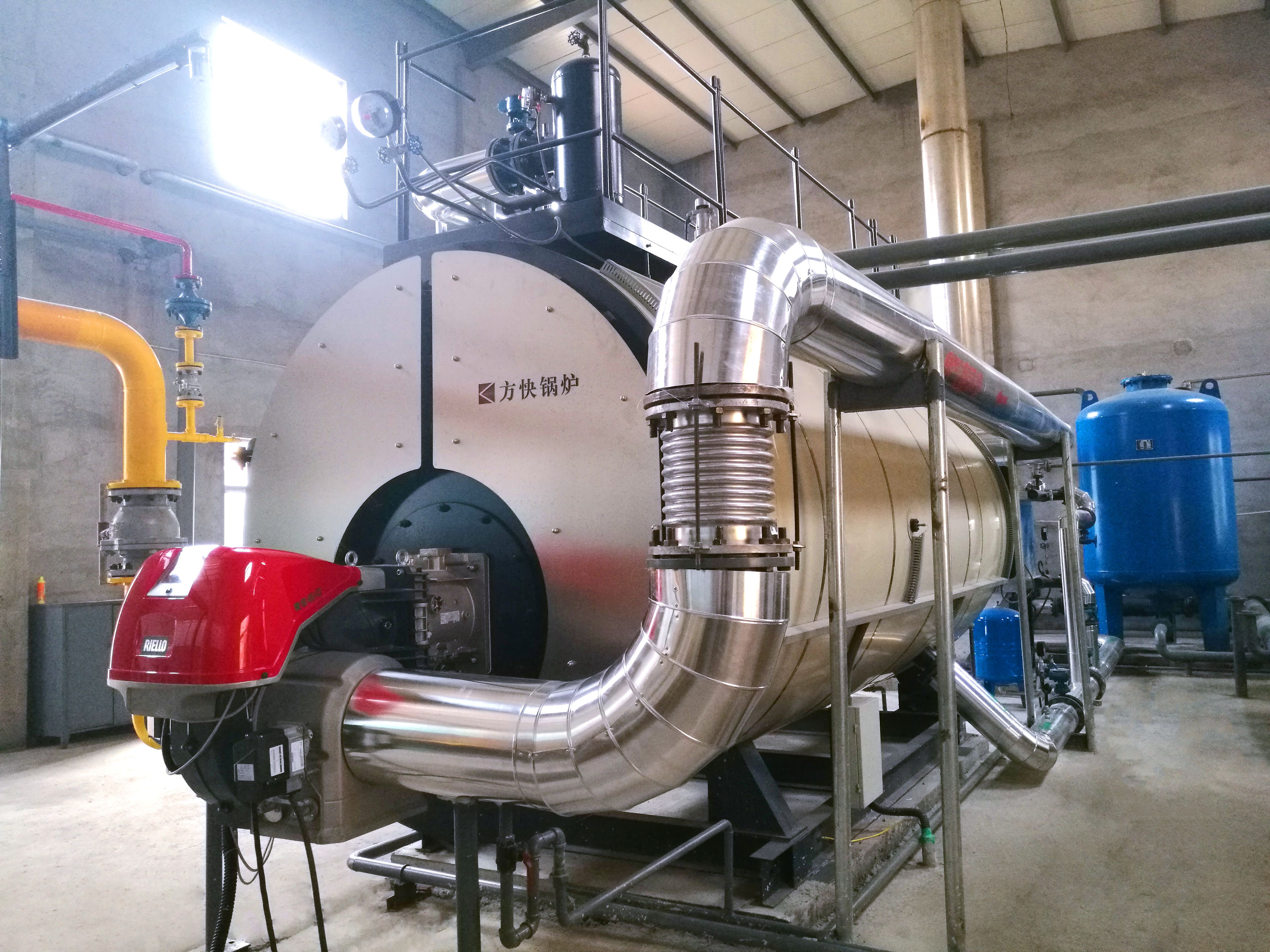 wns 1.4 MW hot water boiler factory in 2020 Steam boiler