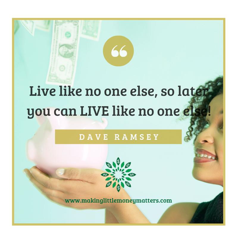 Living Like No One Else