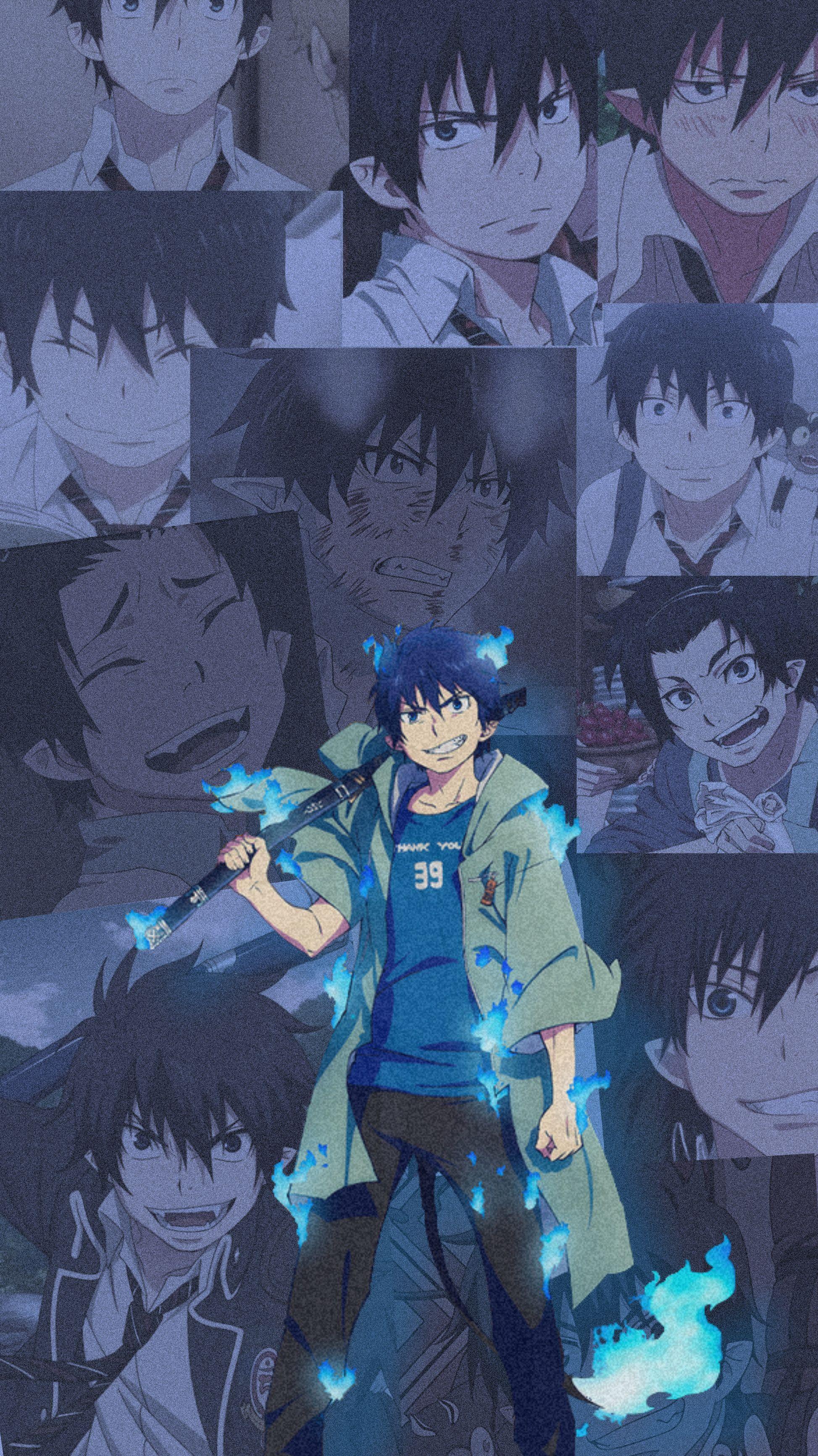 Rin Okumara 4 Blue Exorcist Rin Blue Exorcist Anime Cute Cartoon Wallpapers