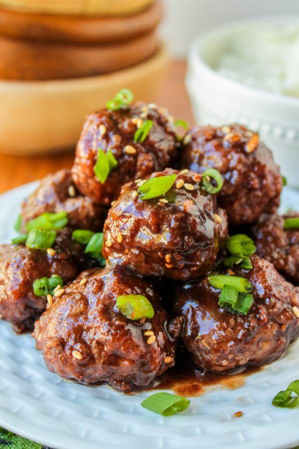 Raspberry Balsamic Meatballs (Slow Cooker) - The Food Charlatan