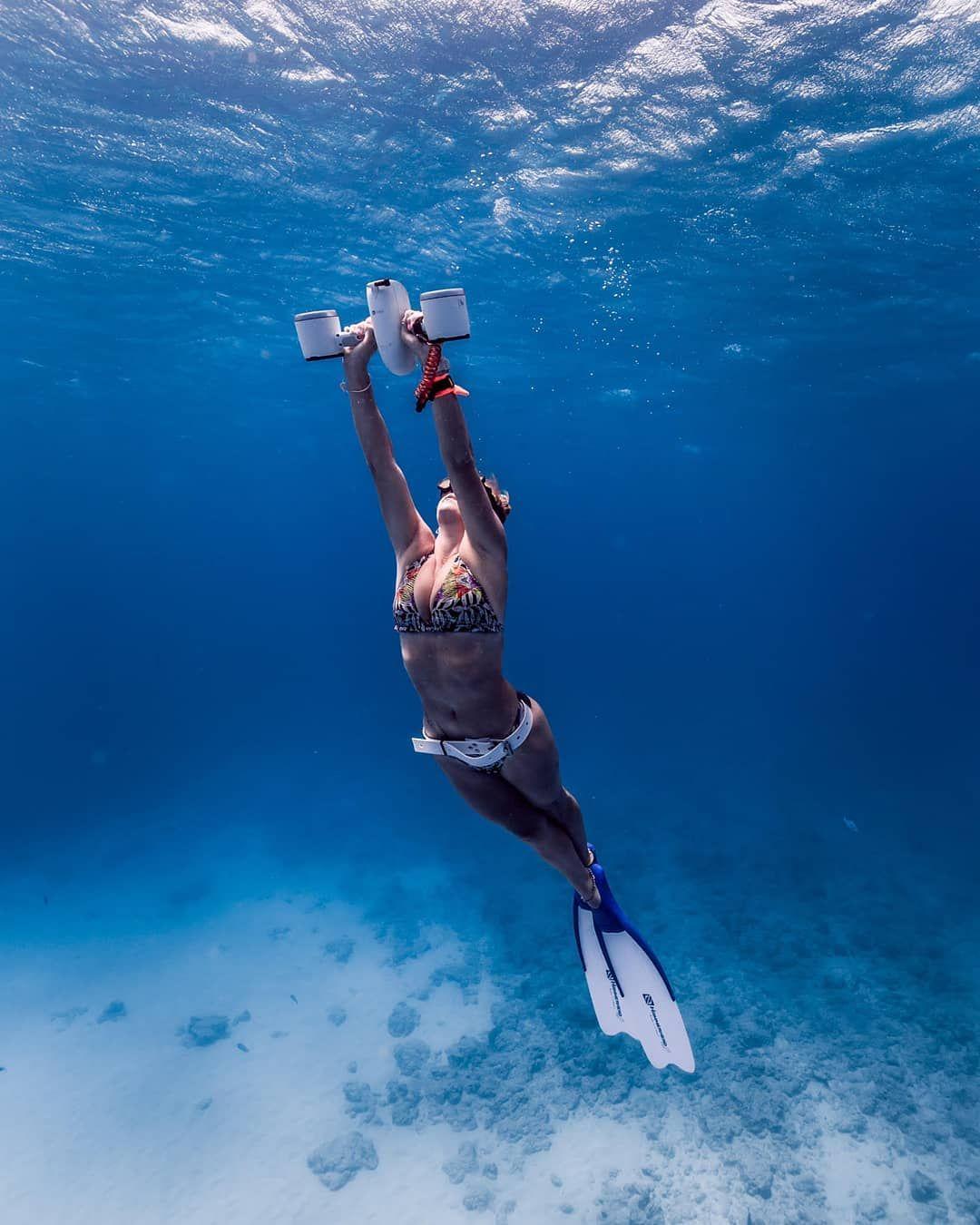 """OceanGo Tech On Instagram: """"@kailua_kat Freediving 🏊♀️"""