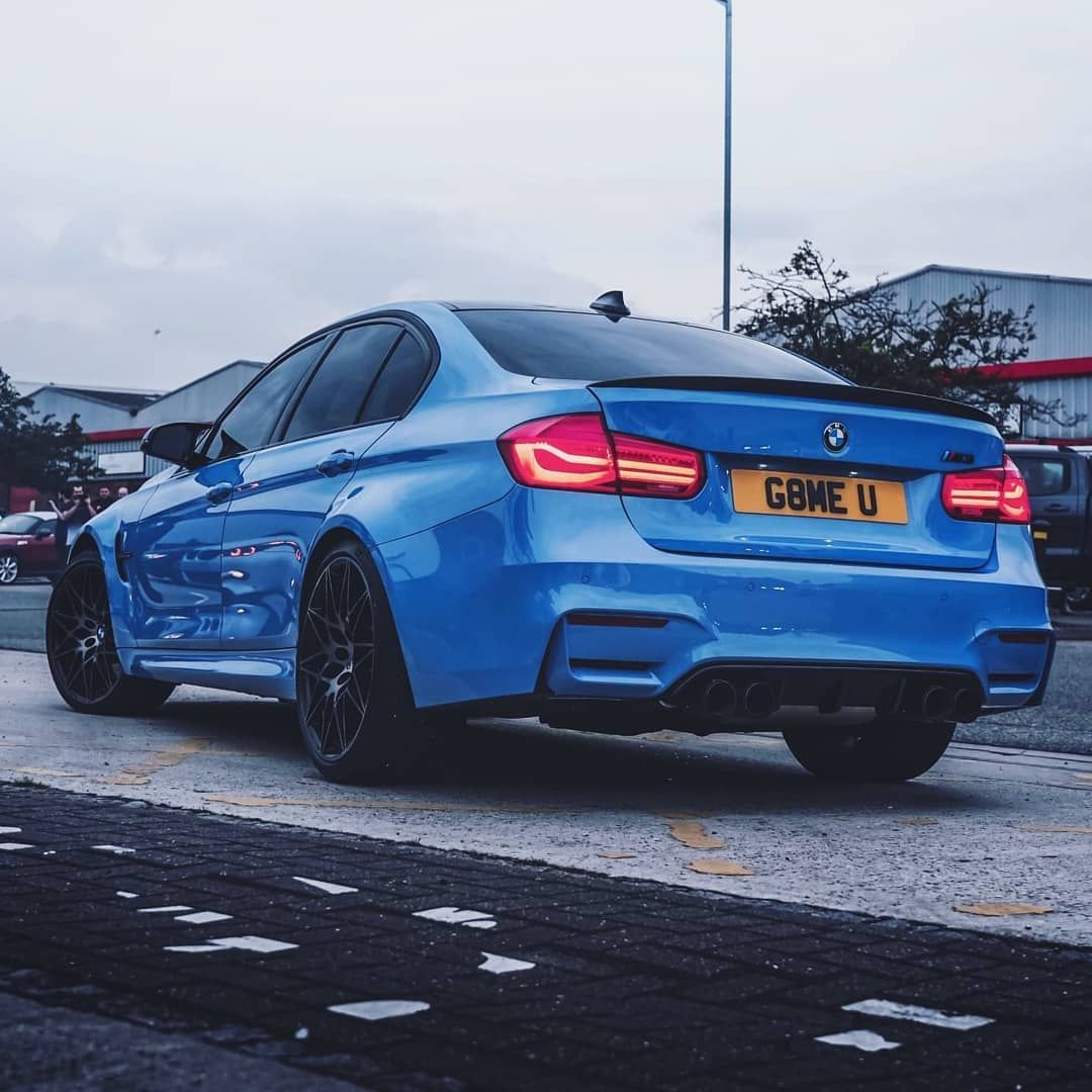 BMW M3 With Our 4D Number Plates - @esskh4n - More High Quality 4D & 3D Gel Letters & Numbers In St