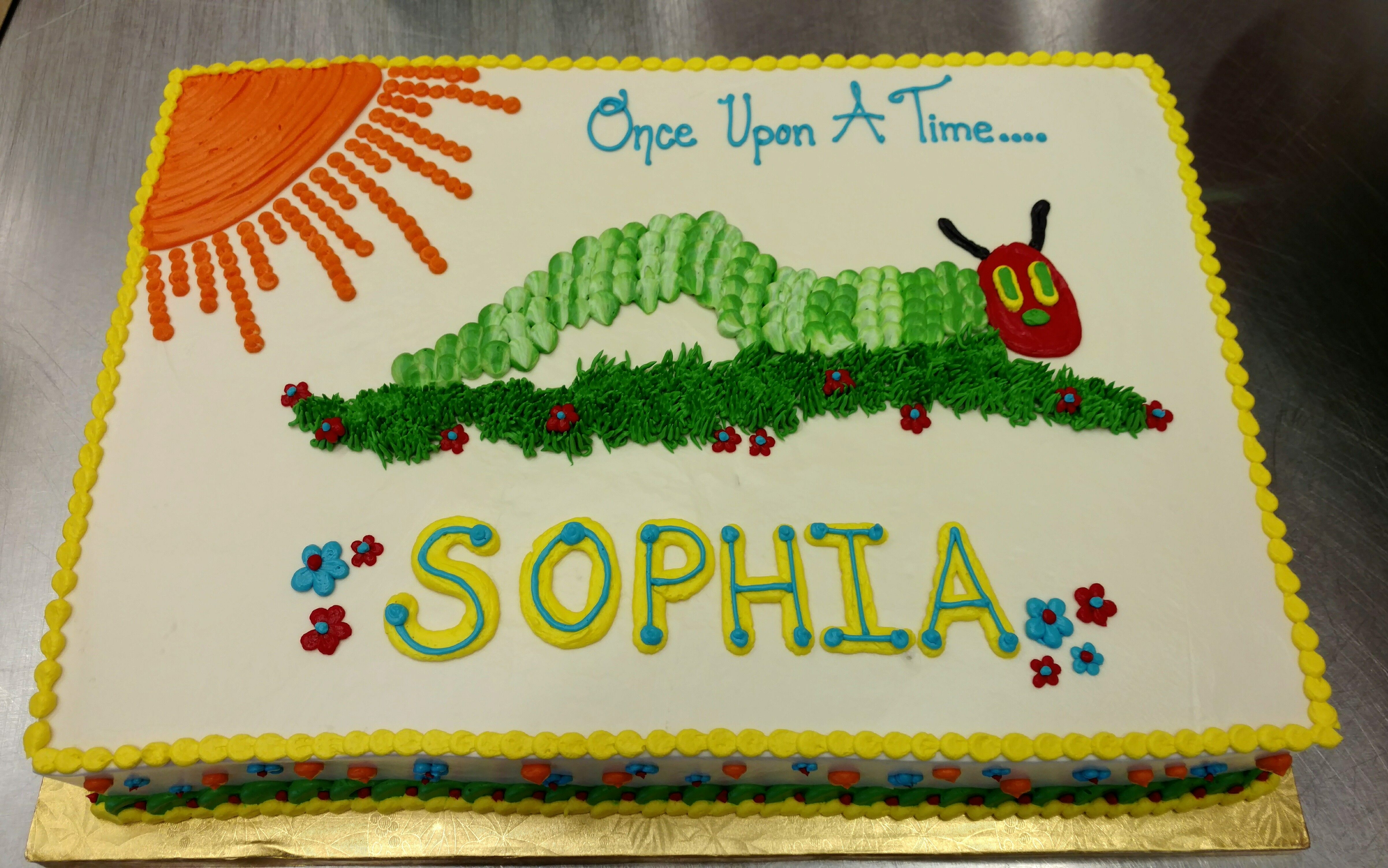 Once Upon A Time Sophia Had The Best Looking Hungry Caterpillar
