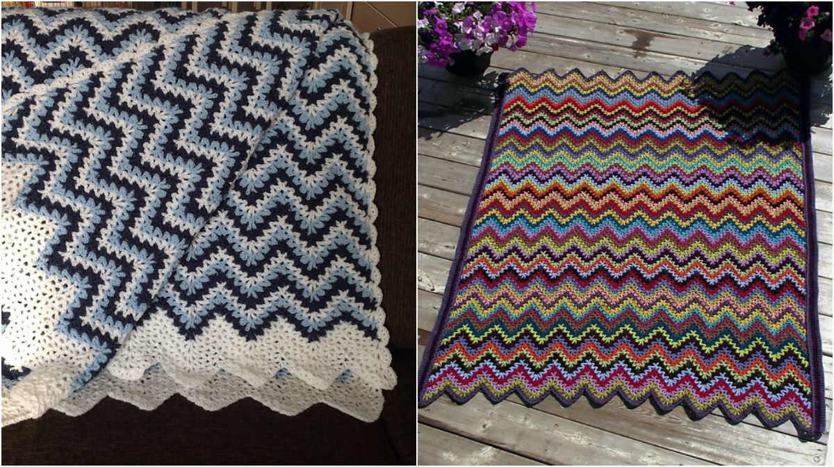 Ripple Afghan Crochet Pattern Amazing Design Ideas