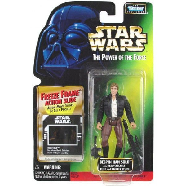 Kenner Star Wars The Power Of The Force Lando Calrissian Action Figure NIB
