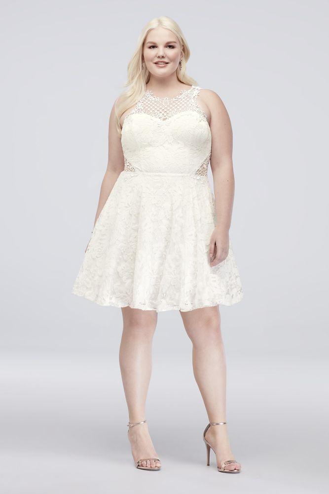 White Dresses Size 22
