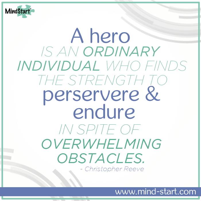 For the heroes in your life.  #Alzheimers #Dementia #Caregiver #CaregiverTip #AlzAwareness #EndAlz #MindStart www.mind-start.com
