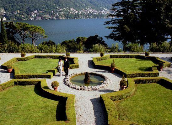 panorama a Villa Passalacqua a Moltrasio sul Lago di Como | Lago ...