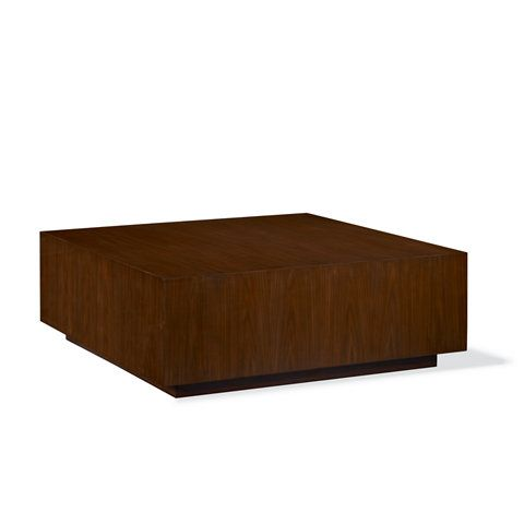 Modern Hollywood Plinth Base Cocktail Table - Cocktail Tables - Furniture - Products - Ralph Lauren Home - RalphLaurenHome.com