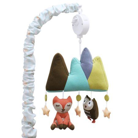 Little Haven Clever Fox Musical Mobile Woodland Animals Theme