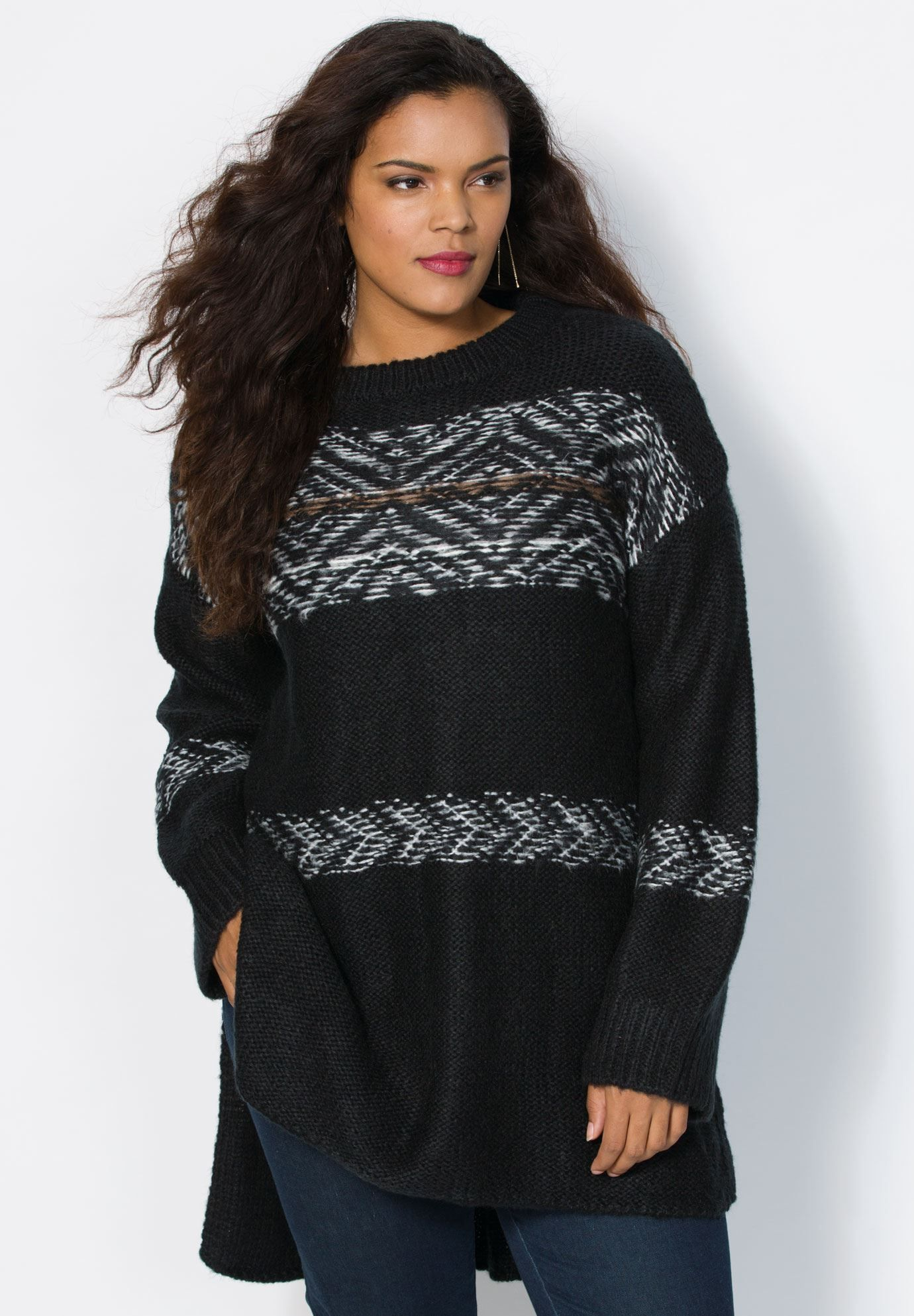 This Fair Isle sweater is the piece your wardrobe needs. relaxed ...