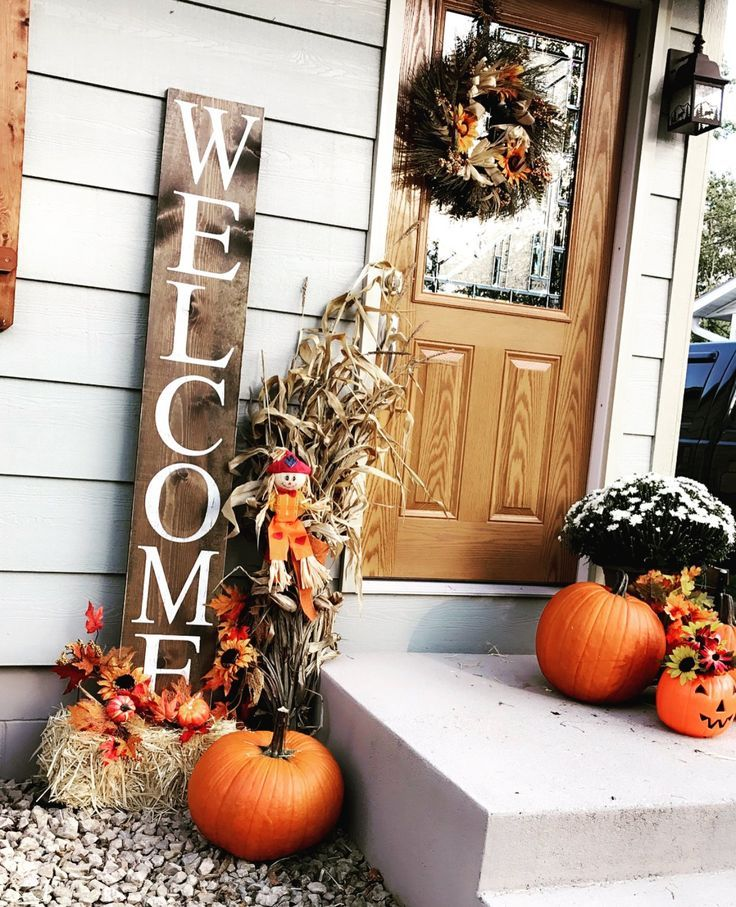 Witamy - Home Decor #fallfrontporchdecor