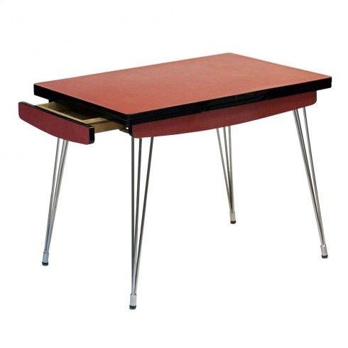 Table en formica années 60 \